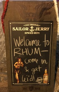 Rhum Sign