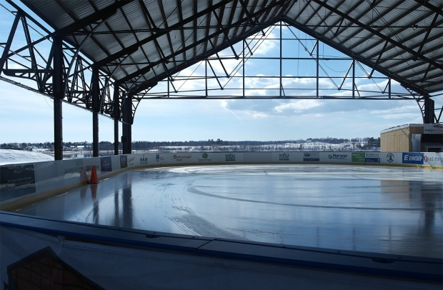 the rink at thompson's point