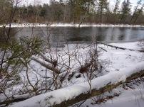 Sebago Lake State Park Winter