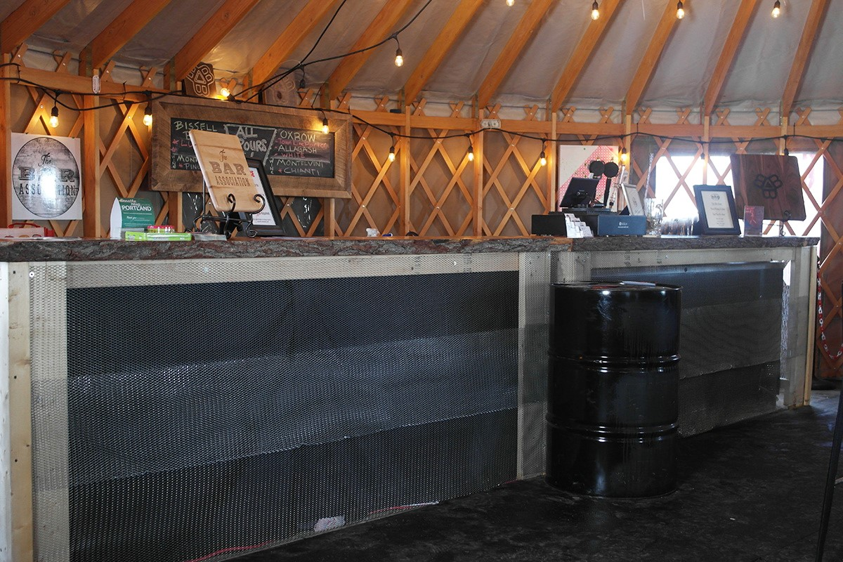 Yurt Bar
