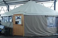 Yurt at Thompson's Point