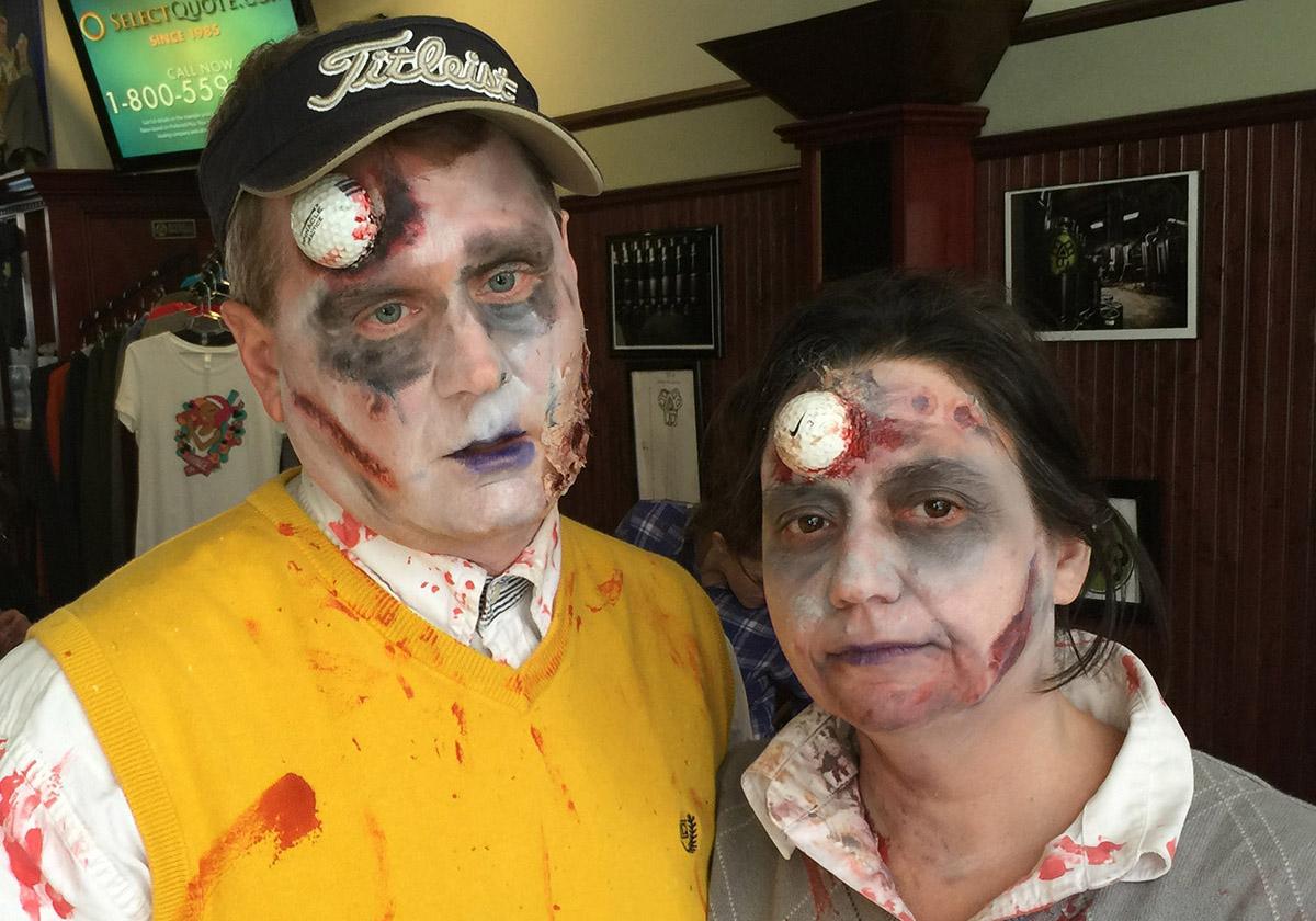 Zombie Golf Costumes