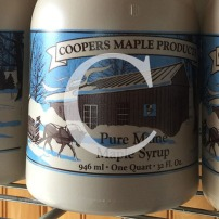 Blog Post: C is for Coopers Maple Products and Maine Maple Sunday