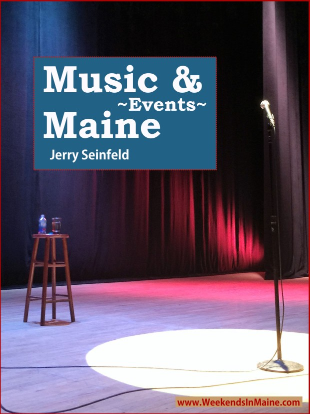 Jerry Seinfeld at the Merrill Auditorium