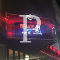 Blog Post: P is for Port City Music Hall and Bruce in the USA