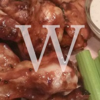 Blog Post: W is for Wings Made with Deer Camp Black Bear Chipotle BBQ Sauce