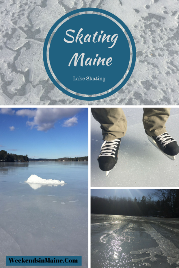 Skating in Maine