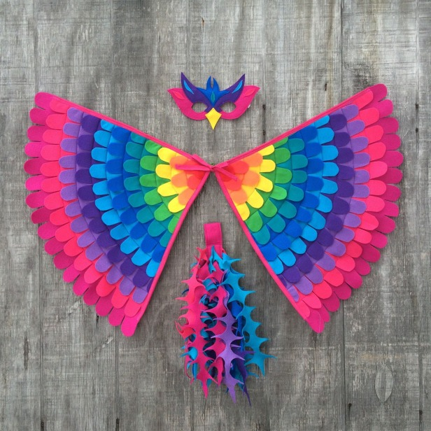 Tree + Vine | Magical Rainbow Bird Costume