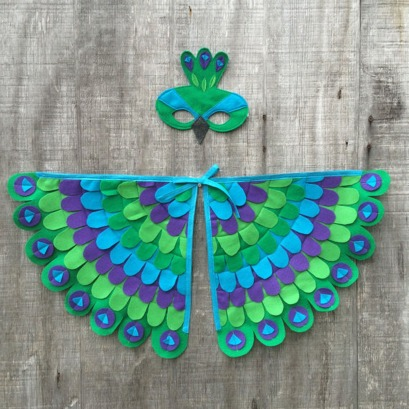 Tree + Vine | Peacock Costume