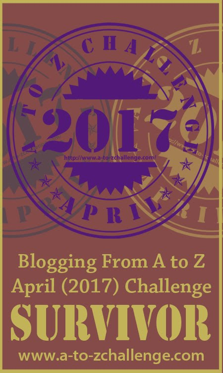 A to Z Bloggin Challenge | April 2017
