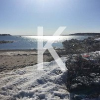 K is for Kettle Cove in Cape Elizabeth