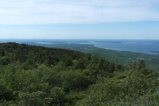 Cadillac Mountain during the day.