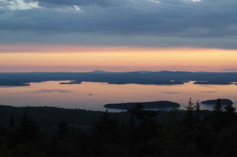 Cadillac Mountain at Sunrise