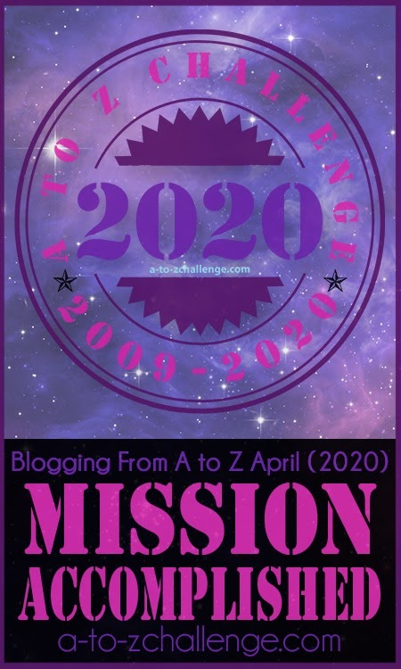A to Z Blogging Challenge | 2020