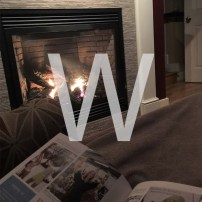 W is for Warmth and why I can't give up my chair.