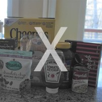 X is for Xylitol and other sugars that are off the table.