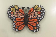 Quilled Butterfly (10)