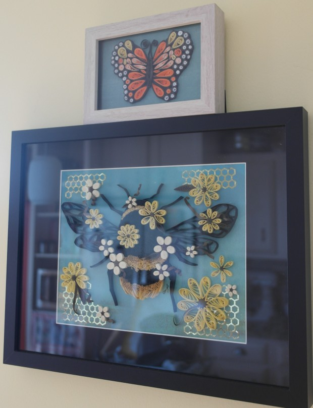 Quilling-bee+butterfly